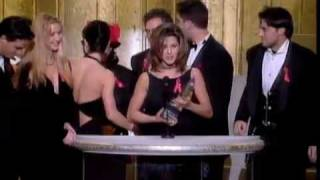 """Friends"" Wins at the 1995 Peoples Choice Awards"