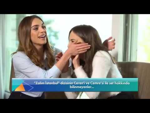 Cemre ve Ceren ile Zalim İstanbul Setinden Keyifli Röportaj