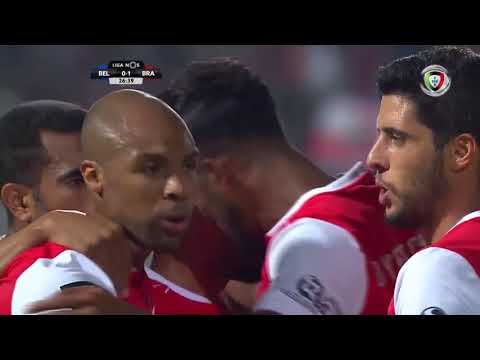 Goal | Golo Wilson Eduardo: Belenenses 0-(1) Sp. Braga (Liga 18/19 #6)
