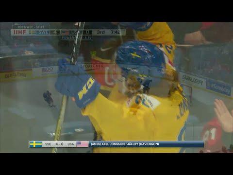 Höjdpunkter: Sverige klart för JVM-final - TV4 Sport
