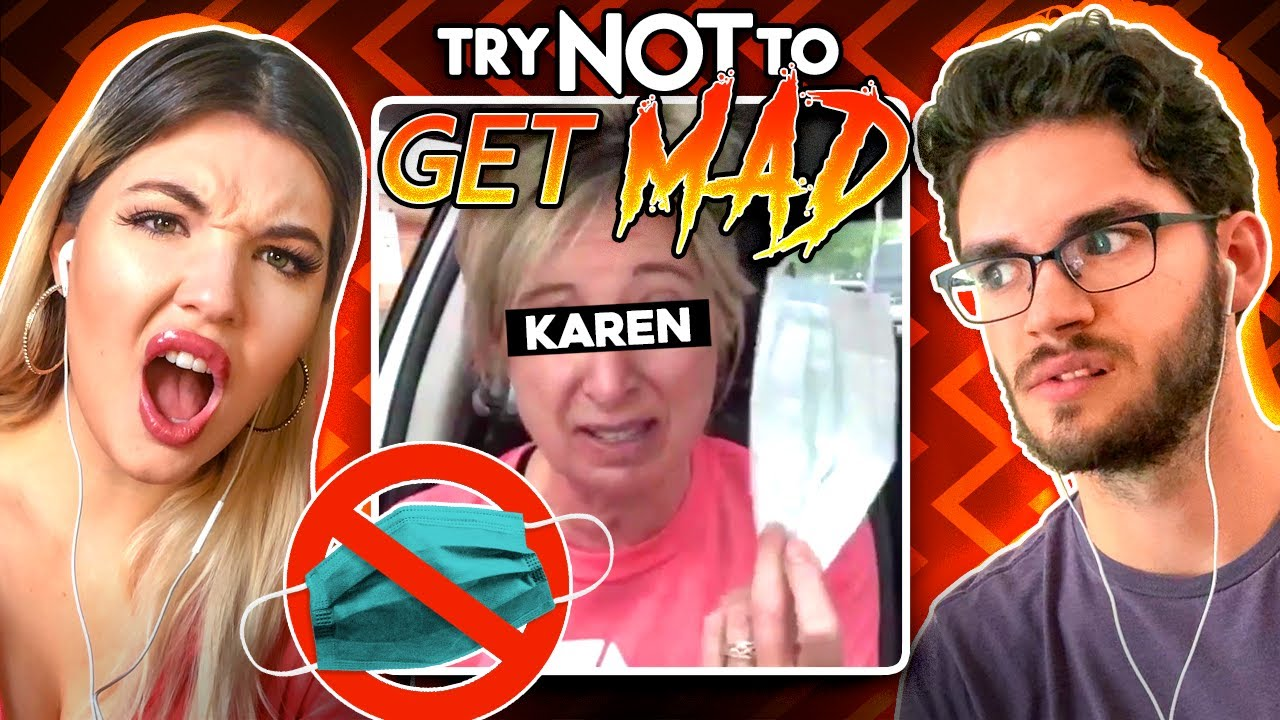 Try Not To Get MAD Challenge | Ultimate Duel (Karens, Gal Gadot, Adele)