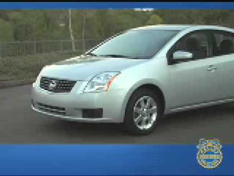 2008 Nissan Sentra Review - Kelley Blue book - YouTube