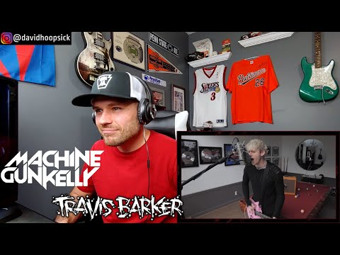 HOOPSICK REACTS to Machine Gun Kelly & Travis Barker - Misery Business (Paramore Cover)   REACTION