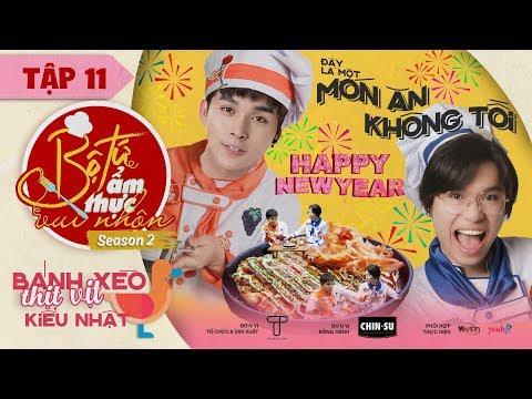 Bộ Tứ Ẩm Thực Vui Nhộn Mùa 2 | Tập 11: Bánh Xèo Thịt Vịt Kiểu Nhật - Jun Phạm, Quang Trung