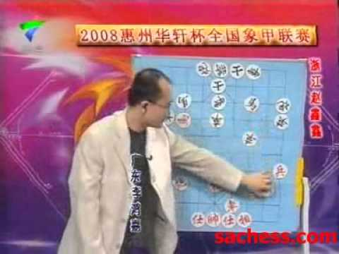 xiangqi(chinese chess) guangdong sports - zhaoxinxin vs lihongjia