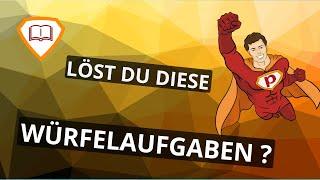 LÖST DU DIESE WÜRFELAUFGABEN ? | Plakos.de