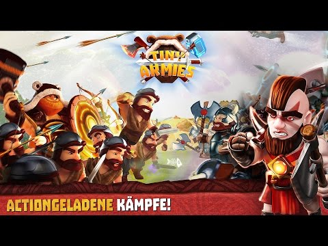 Tiny Armies offizieller Trailer Deutsch/German