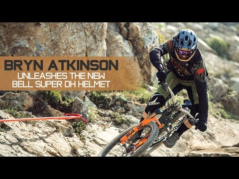 Two Helmets in One - Bryn Atkinson Unleashes the New Bell Super DH