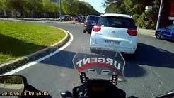 Anticiper et éviter un refus de priorité à moto