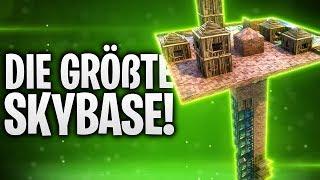 DIE GRÖßTE SKYBASE! 🏠 | Fortnite: Battle Royale