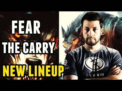 Lycan Pro Gameplay - Fear Carry - EG New Lineup Dota 2