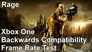Rage Xbox 360 vs Xbox One Backwards Compatibility Frame Rate Test