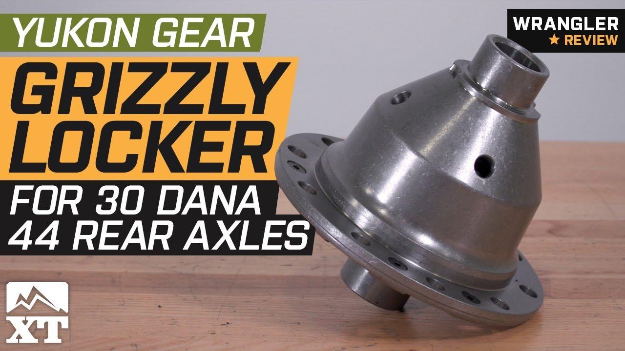 Jeep Wrangler Yukon Gear Grizzly Locker for 30 Spline Dana 44 Rear Axles  (2007-2018 JK) Review