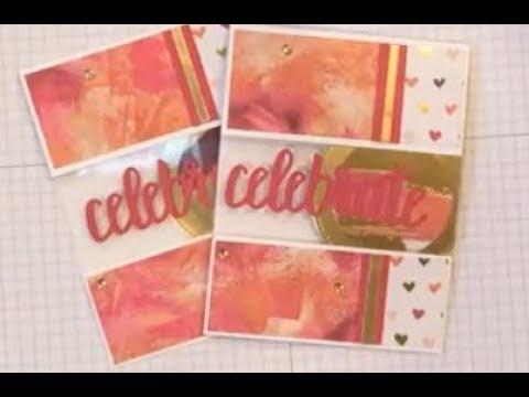Celebrate You Window Card