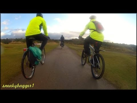 Out On The Bike - Lossiemouth to Burghead 28Nov12