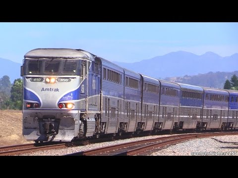 LONG AMTRAK TRAINS