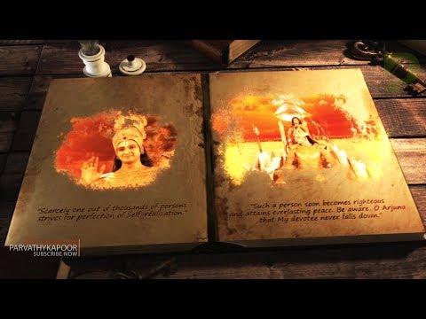 Krishna Enlightens Arjun With Subtitles (Bhagavad Gita) Mahabharat