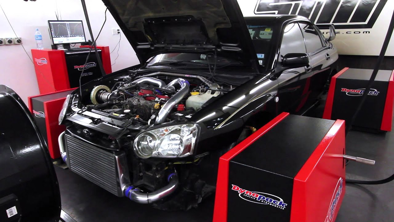 Subaru Sti Hks Turbo Upgrade Stock Ecu Tune 275kw Wheels Youtube