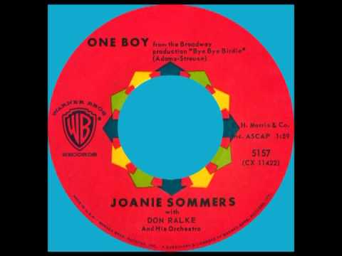 ONE BOY, Joanie Sommers, Warner Bros. #5157  1960
