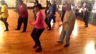 Royal Palace Soul Line Dance Party with DJ Butch & Lisa