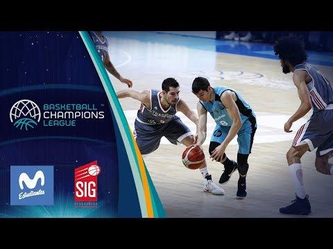 Movistar Estudiantes v SIG Strasbourg - Highlights - Basketball Champions League