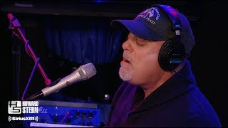 """Billy Joel """"Just the Way You Are"""" on the Howard Stern Show (2010)"""