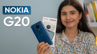 Nokia G20 Review: Good Battery and Not Much Else!