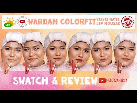 6-warna-terbaru-wardah-colorfit-velvet-matte-lip-mousse-earthy-collection-di-kulit-sawo-matang