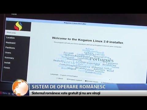 Kogaion Linux - sistem de operare 100% românesc