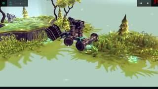 """A walkthrough video of the game Besiege - part 1 """"Ipsilon"""""""