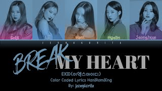 EXID - Break My Heart