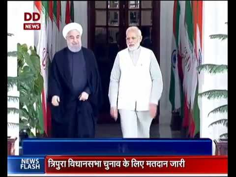 India-Iran sign 9 MoUs to boost bilateral ties