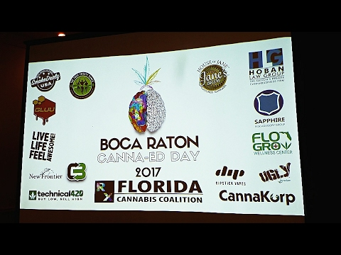 Canna-Ed Day Cannabis Conference in Boca Raton, Florida