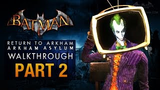 Batman: Return to Arkham Asylum Walkthrough - Part 2 - Arkham Island