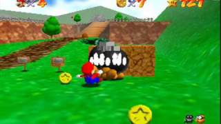Deadly Wall Bump in Super Mario 64 (Gameshark Code)