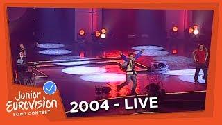 Secret Band - O Palios Mou Eaftos - Greece - 2004 Junior Eurovision Song Contest