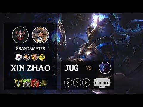 Xin Zhao Jungle vs Rek'Sai - KR Grandmaster Patch 10.15