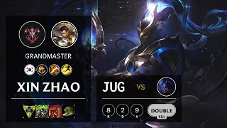 Xin Zhao Jungle vs Rek'Sai - KR Grandmaster Patch 10.15