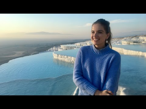 THE MOST BEAUTIFUL PLACE IN TURKEY | Pamukkale + Izmir