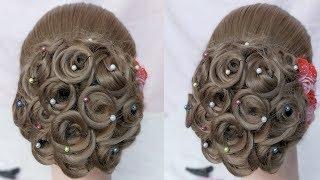 Easy juda hairstyle for wedding || Bridal wedding hairstyles step by step || hairstyle For Party