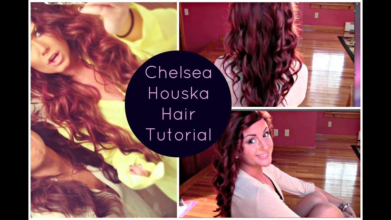 hair tutorial   chelsea houska inspired ♡