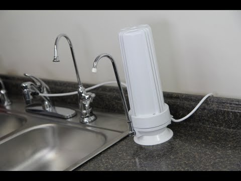 Counter Top Carbon Water Filter