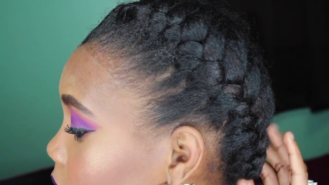 HOW TO: French Braid Tutorial on Natural Hair
