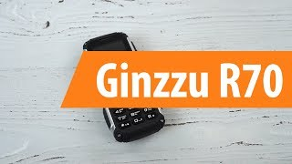 ginzzu R70 распаковка
