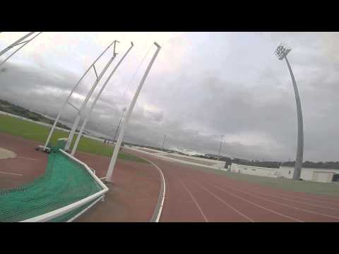 200m with GoPro in Lagos