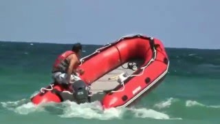 14' Inflatable Boats - SD430 carrying 7 people