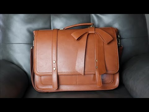 What's in my Bag?   Laptop/Planner Bag   Ecosusi Briefcase