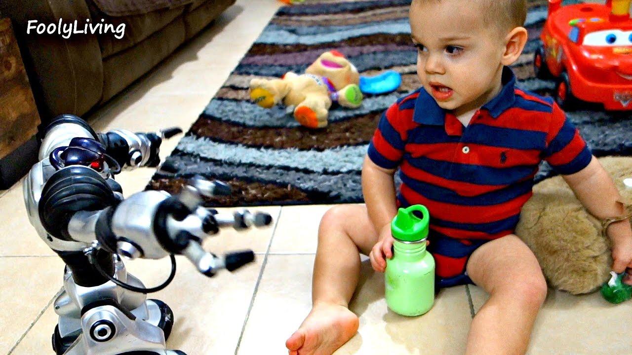 robot babysitter