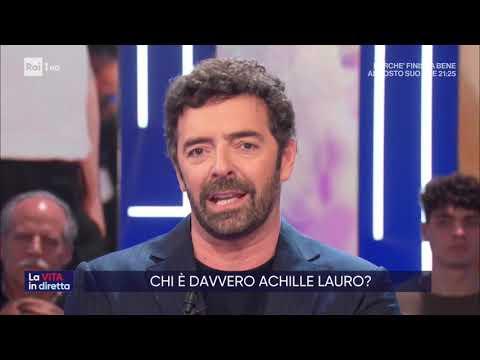 Achille Lauro, parla il padre - La vita in diretta 18/02/2020