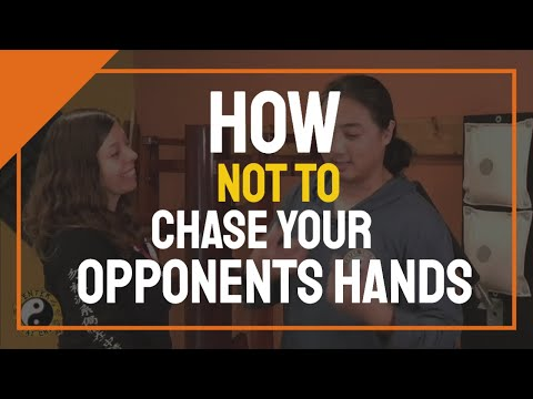 How Not To Chase your Opponents Hands | Kung Fu Training Question